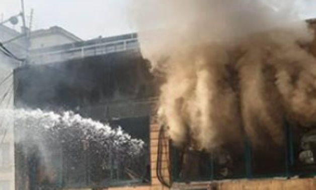 Tawfiqia  market fire