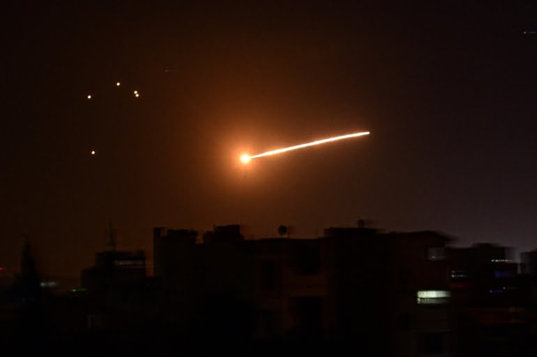 Syria attacked by Israel