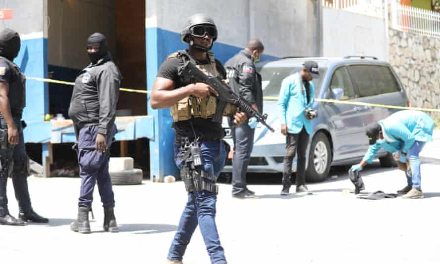 Haiti soldiers killed mercenaries