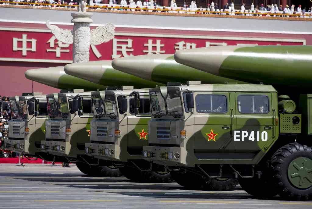 China nuke Japan