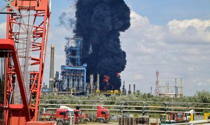 romania refinery explosion