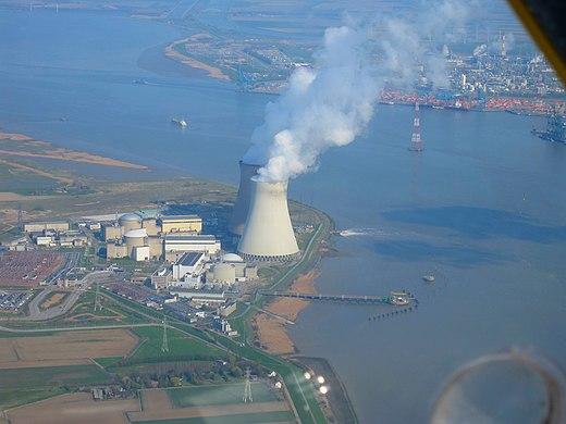 Doel 2 nuclear plant Antwerp