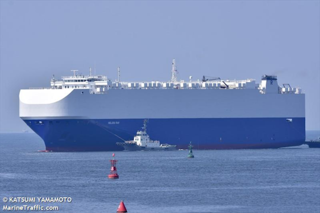 Israel commercial ship