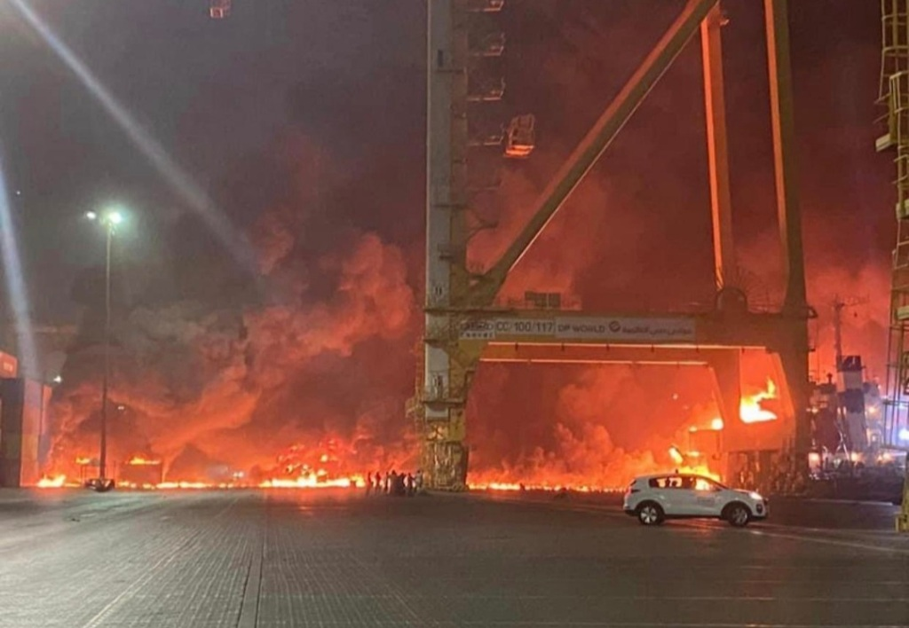 Dubai port explosion